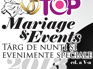Targ de nunta Top Mariage&Events 2013