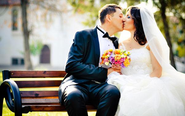 Sedinta foto Andrea si Mihai in ziua nuntii